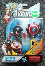 "Marvel Universe Captain america Weapons Pop up  4"" FIGURE 2014 Avengers"