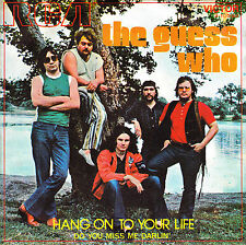 "7"" the guess who hang on to your life 45 spanish 1971 do you miss me darlin'"