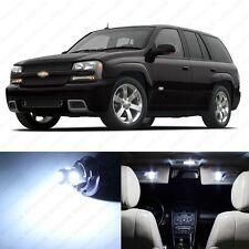13 x White LED Interior Light Package For 2002 - 2009 Chevy Trailblazer + TOOL