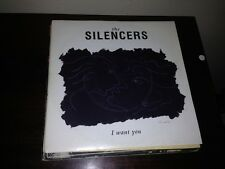 "SILENCERS SPANISH 7"" SINGLE SPAIN I WANT YOU - PAINTED MOON"