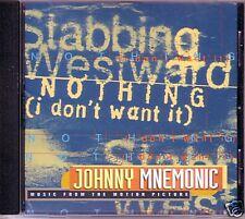 Stabbing Westward Nothing KEANU REEVES PROMO radio DJ CD Single I don't want it