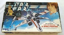 VINTAGE MODEL STAR WARS 1977 X WING FIGHTER MPC KIT 1-1914 NO INSTRUCTIONS