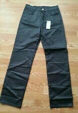 Ice by Iceberg Slim Skinny Straight Fit Gray Sparkle Women's Jeans Pants Size 29