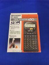 1990 Press Photo Sharp Electronics Dial Master 450 Still In Box