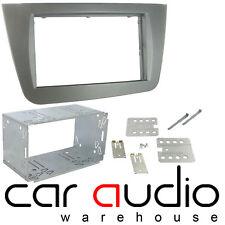Genuine Seat Altea 2004 Car Stereo Double Din Fascia Panel Cage Kit DFPK-18-01