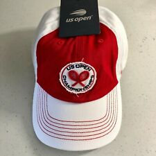 2018 US OPEN CHAMPIONSHIPS TENNIS CAP WHITE AND RED Retail price $30.00