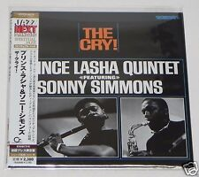 Prince Lasha featuring Sonny Simmons / The Cry! JAPAN CD Mini LP w/OBI UCCO-9470
