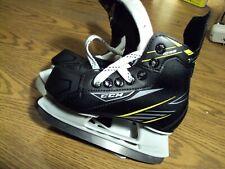 New listing Ccm Tacks 1092 Ice Hockey Skates Black and Yellow Size 12Y 12 Us