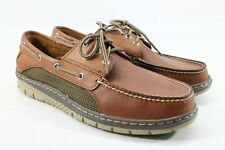 Sperry Top-Sider Men's Billfish Ultralite Tan/Green Boat Shoe FLSAMP