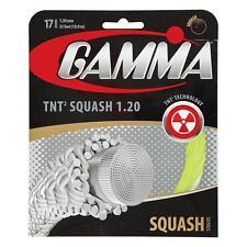 Gamma Tnt2 17 (1.20mm) Squash Racquet String - Reg $15 - Great Feel and Power