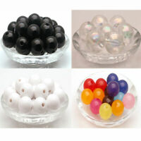 Wholesale Candy color Round Spacer Beads Jewelry Making Charms Beads 3-30mm