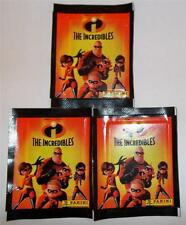 The Incredibles Stickers - Three Sealed Unopened  Packets