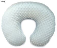 Slipcover for Boppy Pillow - Minky Fabric - Handmade in Usa (Ivory)