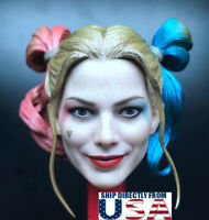 "1/6 Harley Quinn Head Sculpt 2.0 Suicide Squad For 12"" PHICEN HotToys Figure USA"