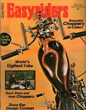VTG Easyriders Magazine June 1971 Beautiful Color Choppers Rock Star Choppers