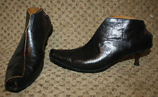 CYDWOQ Dark Brown SKATE Ankle Boots Vintage Line 40.5 10 10.5