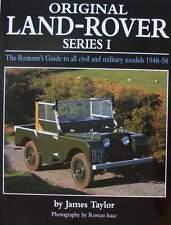 LIVRE/MANUEL/BOOK : LAND ROVER SERIES 1 civil & militaire (guide à restaurer