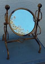 Tischspiegel rund, Durchmesser 18 cm, 34 cm hoch