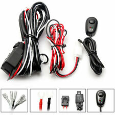Wiring Harness Kit Powr Switch Relay For LED Work Light Bar Off-Road 72W~300W