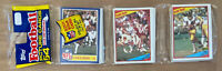 VINTAGE 1984 TOPPS NFL FOOTBALL SEALED UNOPENED RACK PACK - MARINO & FOUTS TOP