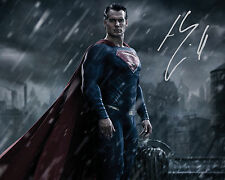 HENRY CAVILL (Superman) #2 10X8 PRE PRINTED (SIGNED) LAB QUALITY PHOTO REPRINT