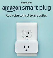 Amazon Smart Plug White - Works with Alexa Echo - BRAND NEW ✔ SHIPS WORLDWIDE ✔