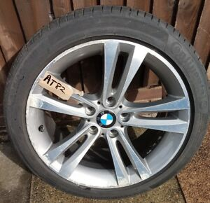 "BMW 2014 18"" ALLOY WHEEL & TYRE SE - 1 SERIES F20 3 SERIES F30 F32 (AT82)"