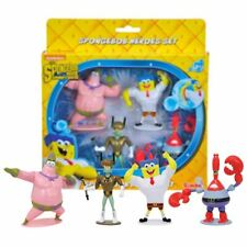 New The Spongebob Movie Sponge Out Of Water Heroes Set 4 Figure Pack Official
