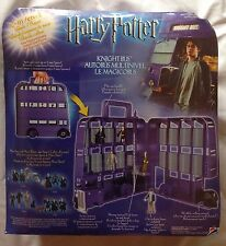 New Mattel Harry Potter Knight Bus Carry Case Vehicle Playset & Harry Figure