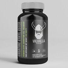 Creatine Ethyl Ester 240 Tablets - Valhalla Nutrition