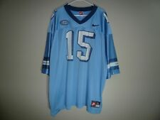 North Carolina TAR HEELS #15 Football Jersey MENS SZ 2XL Nike Blue UNC Vintage