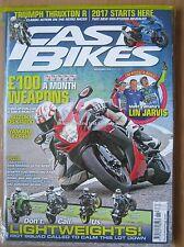 Fast Bikes November 2016  Suzuki GSX-R600 GSX-R1000S Yamaha YZF-R6 ZX-10R ER-6f