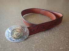 Montana Silversmith 2005 PRCA Associate Member Advocate Belt Buckle Rodeo Silver