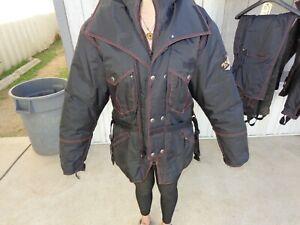 Harley Davidson Mens Cold Winter Waterproof Riding Gear Jacket XL Pants L Black