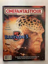 Cinefantastique June 2000 Vol 31 No12 Vol 32 No1 Double Issue Magazine Babylon 5