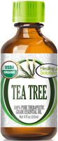 Organic Tea Tree Essential Oil (100% Pure - USDA Certified Organic)