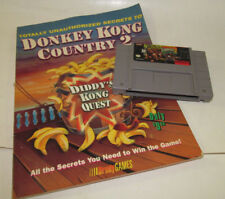 Super Nintendo Totally Unauthorized Secrets to Donkey Kong Country 2 SNES w Game
