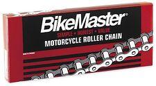 BikeMaster 420 Standard Chain 76 Links - Natural - 420 X 76