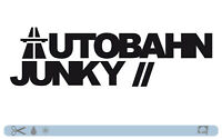 AUTOBAHN JUNKY Sticker bombed bomb OEM JDM style DUB static low Tuning Aufkleber