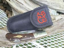 DB06KF Boone Knife Co. Locking Folder Pocket Knife Daniel Boone w/sheath