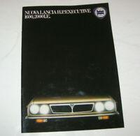 Prospekt / Broschüre Lancia H.P. Executive 1600, 2000 I.E.