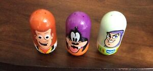 Lot of 3 Mighty Beanz DISNEY CHARACTERS USED