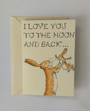 Guess how much I love you card