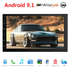 7inch Android 9.1 HD 2Din Car Radio Stereo MP5 Player Mirror Link GPS Navigation
