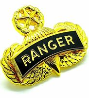 USMC US NAVY MARINE CORPS PARACHUTE JUMP WING GOLD PLATED IN MEMORIAM PIN BADGE