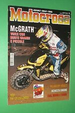 MOTOCROSS 1 GENNAIO 1996 TM 125 250 CROSS DONATO MIGLIO TALLON VOHLAND TORINO