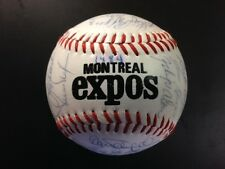 1984 Montreal Expos Team Signed Baseball(29 Sigs) Rose,Dawson,G Carter,Raines,