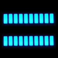 2x   LED Bar Graph Displays - 10 Segment - BLUE