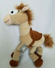 Disney Parks Toy Story Bullseye Bulls Eye Horse Plush Soft Stuffed Doll Toy 18''