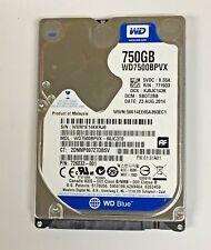 "WD7500BPVX-60JC3T0 Western Digital Blue  750GB 5400RPM 2.5"" HDD SATA"
